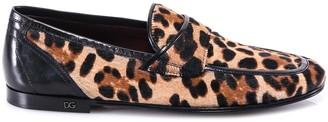 Dolce & Gabbana Leopard Patterned Loafers