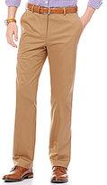 Hart Schaffner Marx Straight-Fit Pic-Stitched Flat-Front Dress Twill Chino Pants