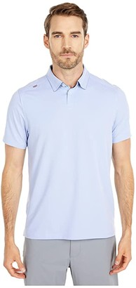 Rhone Commuter Polo (Blue Oxford) Men's Clothing