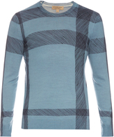 Burberry Thompsons crew-neck wool sweater