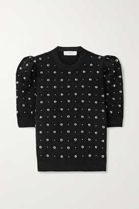 Michael Kors Studded Cashmere Sweater - Black