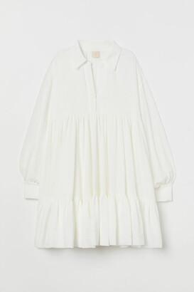 H&M Voluminous Tunic - White
