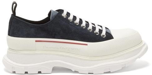 Alexander McQueen Blue Men's Shoes with