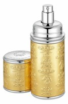 Creed Gold With Silver Trim Leather Atomizer