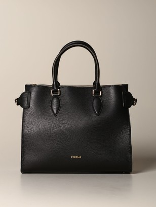 Furla Tote Bags Large Leather Tote Bag