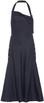 Jacquemus La Robe Tablier midi dress