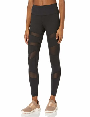 Core 10 Amazon Brand Women's Icon Series - The Warrior Mesh Legging