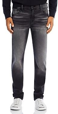 True Religion Rocco No Flap Slim Fit Jeans in Antimatter