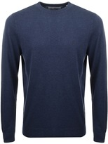 Original Penguin Crew Neck Supima Jumper Blue