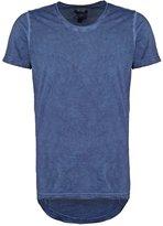 One Green Elephant Moreno Print Tshirt Velvet Blue
