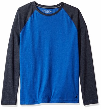 Nautica Men's Long Sleeve Crew Neck Soft Sleep Tee