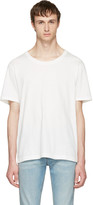 Gucci White Destroyed T-shirt