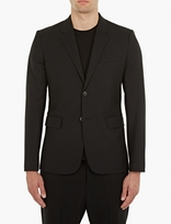 Helmut Lang Black Single-Breasted Blazer