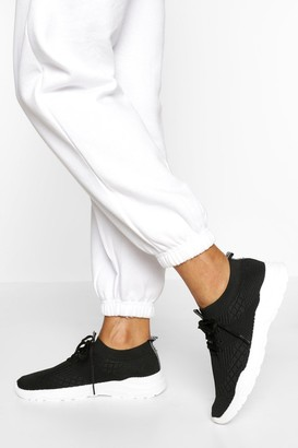 boohoo Basic Sports Sneakers