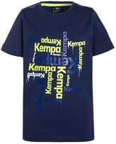 Kempa PAINT Print Tshirt deep blau