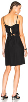 Jenni Kayne Tie Back Dress in Black.