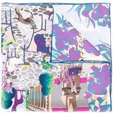 Salvatore Ferragamo Palazzo Spini Feroni print scarf - women - Silk - One Size