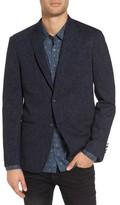 John Varvatos Men's Triple Needle Jacket