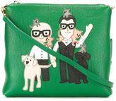 Dolce & Gabbana Designer patch clutch - women - Calf Leather - One Size