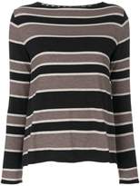 Le Tricot Perugia striped sweater