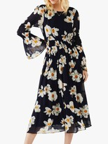 Ghost Lela Floral Graphic Dress, Anemone Flower