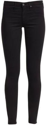 AG Jeans Legging Mid-Rise Sateen Ankle Jeans