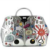 Anya Hindmarch Silver Leather Handle Bag