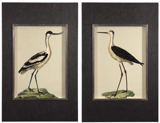 Uttermost 2-Piece Birds on The Shore Print Set