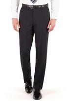 Thomas Nash Navy Plain Regular Fit Suit Trouser