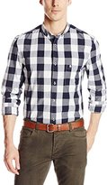 French Connection Men's Lighthouse Check Woven Shirt