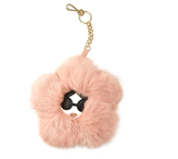 Alice + Olivia Stace Face Fur Flower Key Charm