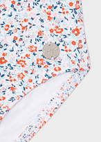 Paul Smith Baby Girls' Floral 'Niba' Swimsuit