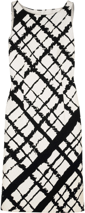 Michael Kors Lattice A-line dress