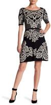 Yoana Baraschi Palais Royal Reversible Flare Sweater Dress