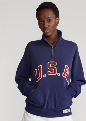 Ralph Lauren Team USA One-Year-Out Fleece Pullover