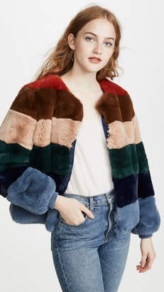 Apparis Louise Faux Fur Jacket