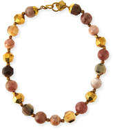 Ashley Pittman Kamili Mixed Horn Beaded Necklace
