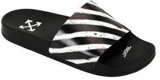 Off-White Off White Men's Pool Slide Spray Sandals