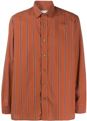 Salvatore Piccolo Striped Longsleeved Shirt