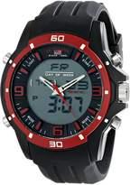 U.S. Polo Assn. Sport Men's US9438 Analog-Digital Display Analog Quartz Black Watch