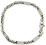 Bulgari Sterling Silver Enigma Bracelet