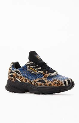 adidas Women's Leopard Falcon Sneakers