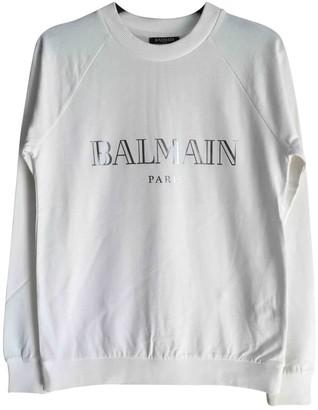 Balmain White Cotton Knitwear for Women