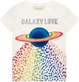 Gucci Children's cotton T-shirt with planet print