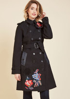 Vogue Vacation Trench in 36
