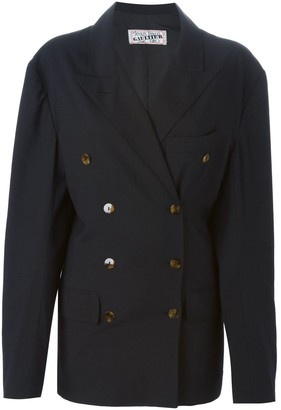 Jean Paul Gaultier Pre Owned Double Breasted Blazer
