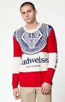 Junk Food Clothing Budweiser Sugar Crew Neck Sweater