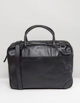 Royal RepubliQ Explorer Leather Laptop Bag With Double Compartment