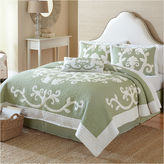 JCPenney Nostalgia Home Aliani Scroll Applique Quilt