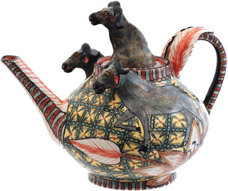 Buffalo David Bitton Ardmore Ceramic Art The Teapot